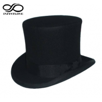 15cm British Style Black Steampunk Mad Hatter LI