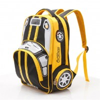 3D Car Lightening School Bag FG