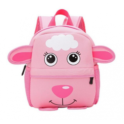 Animal High Quality Waterproof Backpack Kids 3 PK