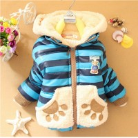 Baby Boys Jacket Cartoon Bear Baby 1 EF