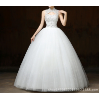Ball Gown Wedding Dresses Appliques Sleeveless  EP