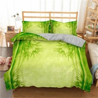 Bamboo Printed 3D Bedding Set 1 ZN