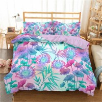 Bamboo Printed 3D Bedding Set 2 ZN