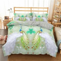 Bamboo Printed 3D Bedding Set 3 ZN