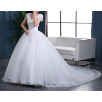 Beads Fashion Bridal Gown Vestidos De Noiva EP