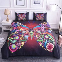 Bedclothes Butterfly Bedding King Girl ZN