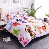 Bedding Set Butterflies Pattern ZN