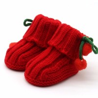 Boots Infant Crochet Knit Fleece 1 LP