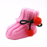 Boots Infant Crochet Knit Fleece 3 LP