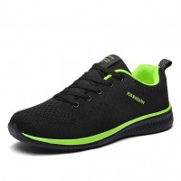 Breathable Walking Shoes Summer Mesh Sneakers Men NS
