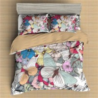 Butterfly Printed Bedding Set Animal 5 ZN
