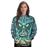 Cartoon Hoodies Pullovers Colorful Ink Splashi 2 NO