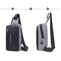 Chest Bag Pack Casual Bag Waterproof Nylon Male CY