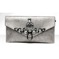 Day Clutches Crystal Rhinestone Banquet Handbag Purse 2 MA