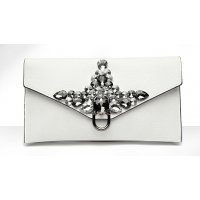 Day Clutches Crystal Rhinestone Banquet Handbag Purse 5 MA
