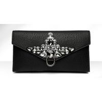 Day Clutches Crystal Rhinestone Banquet Handbag Purse 1 MA