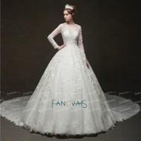 Dubai Wedding Dresses Gown Crystal Beaded IB