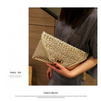 Envelope Bags Designer Diamond Shoulder Clutch MA