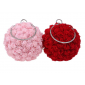 Flower Party Women Bag Crystal Round Small Day Clutch Yi