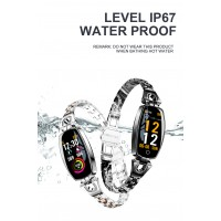 H8 2019 Smart Watch Women Waterproof TC