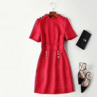 High Quality Wool Dress New AT
