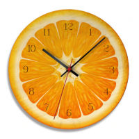 Kitchen Wall Clock 11 Inch Cartoon reloj de pared Fruit 1 MI