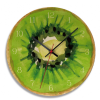 Kitchen Wall Clock 11 Inch Cartoon reloj de pared Fruit 2 MI