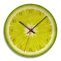 Kitchen Wall Clock 11 Inch Cartoon reloj de pared Fruit 3 MI
