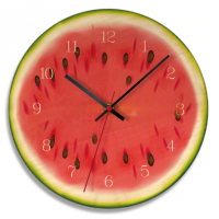 Kitchen Wall Clock 11 Inch Cartoon reloj de pared Fruit 4 MI