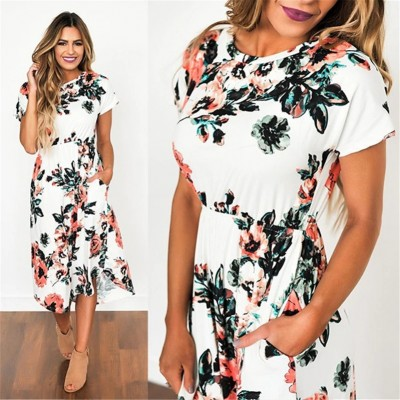 Long Floral Boho tre HR