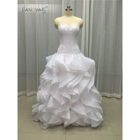 Low Waist Slim New Style Ivorywhite Long Organza IB
