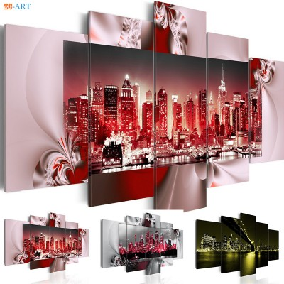 Modern Landscape Wall Painting for Living Room ZK