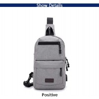 New Anti-theft Men Chest Bag Crossbody Bags CY