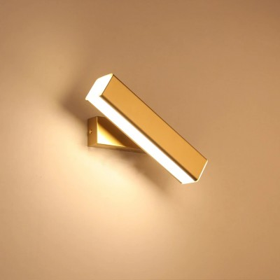 Nordic Imitation wood wall lights led WS