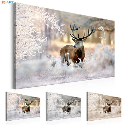 Nordic Style Nature Poster Deer Art ZK
