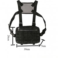 Tactical Breast Bag New Chest Rig Bags Adjustable CY