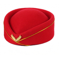 Top Felt Fedora Hats Airline Stewardess FS