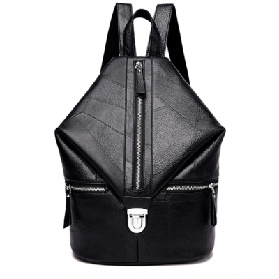 Vintage Women Backpack High Quality Youth Leather VH