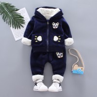 Warm Baby Girls Clothing Set Winter Thick 3 EF