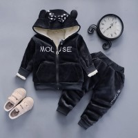 Warm Baby Girls Clothing Set Winter Thick 8 EF