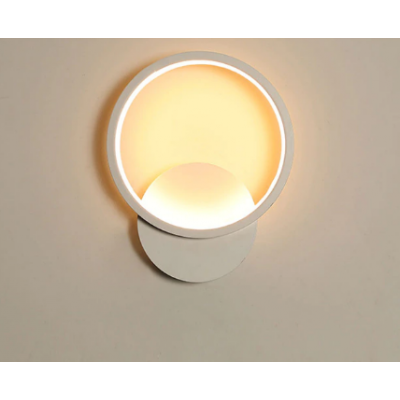 White Sconce Led Wall Lamp Creative Light Fixture 2 SN