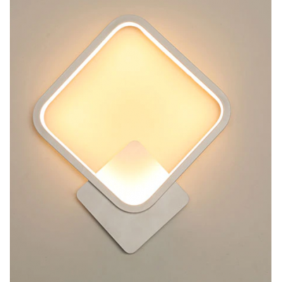 White Sconce Led Wall Lamp Creative Light Fixture 7 SN