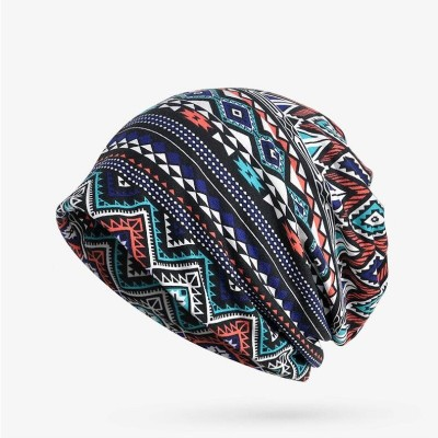 Winter Hats For Men Skullies Beanies Plaid 3 SM