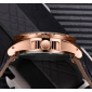 unique quartz watch man luxury rose gold leather 2 OA