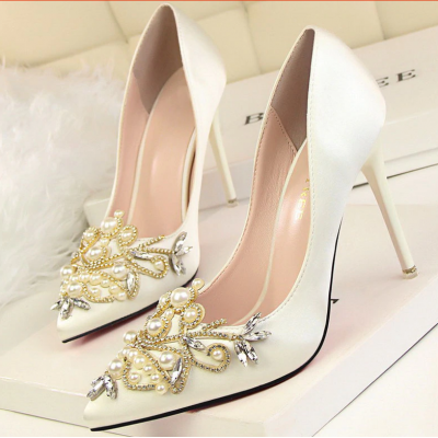 wedding shoes woman pumps stiletto TA